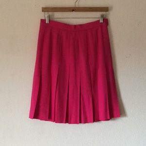 {Escada} Pleated Skirt